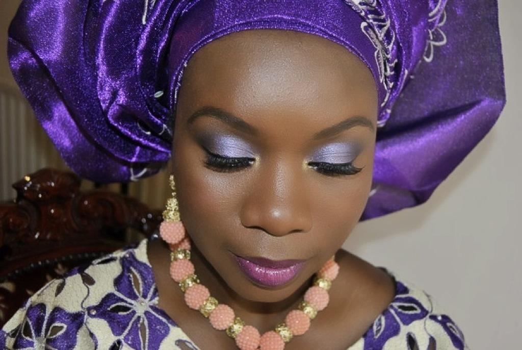 Dark Purple Bridal Makeup : Joy Adenuga Makeup Artist london wedding makeup artist ...
