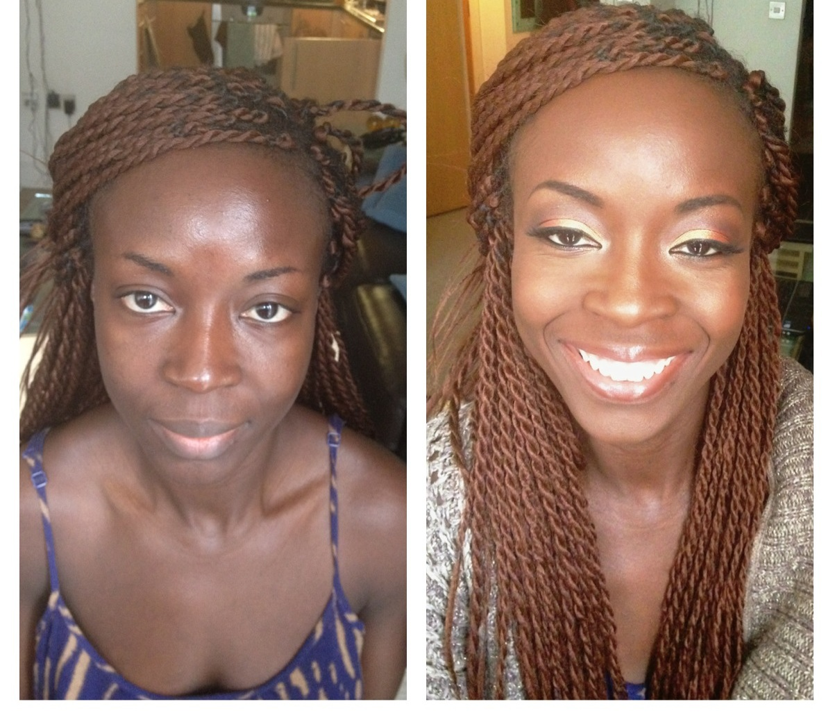 Before And After Makeup Black - Bing Images